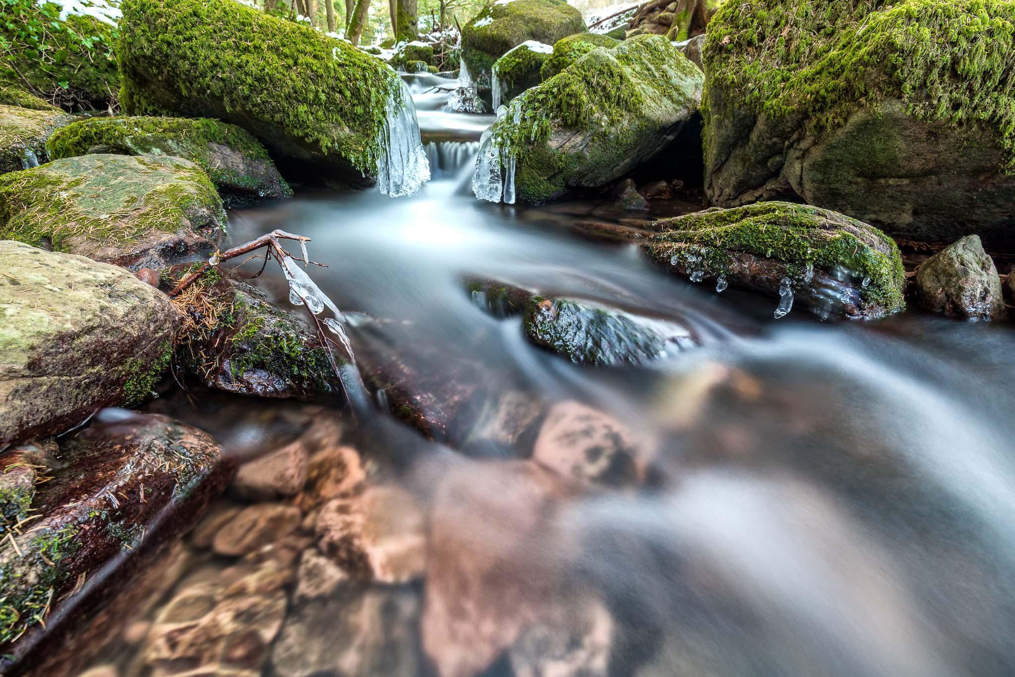 Tages-Workshop Monbachtal Schwarzwald Landschaftsfotografie mit Graufiltern