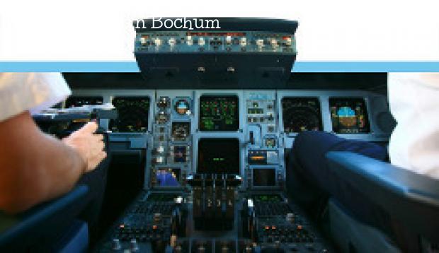 Flugsimulator in Bochum