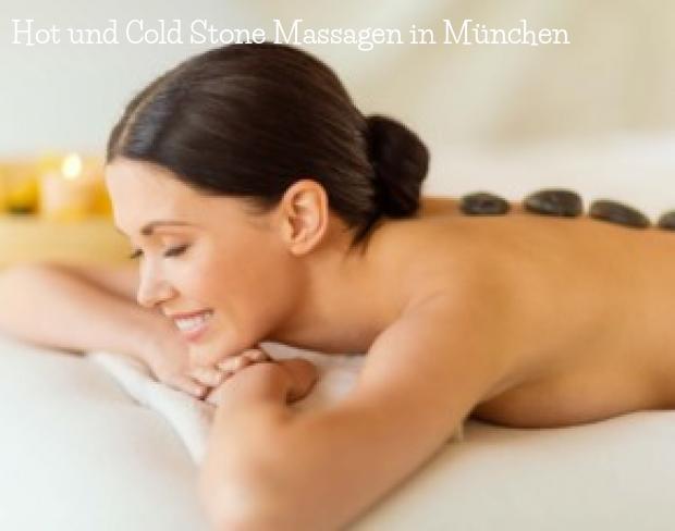 Hot und Cold Stone Massagen in München
