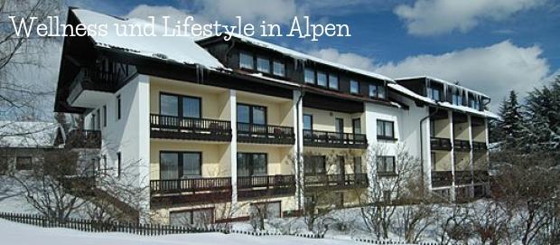 Wellness und Lifestyle in Alpen und Umgebung