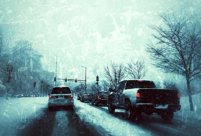 Sicher Auto fahren im Winter