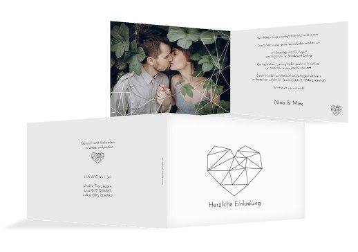 Hochzeitskarten selbst gestalten