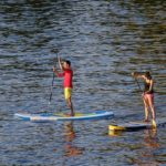 Stehpaddeln / Stand-Up-Paddling